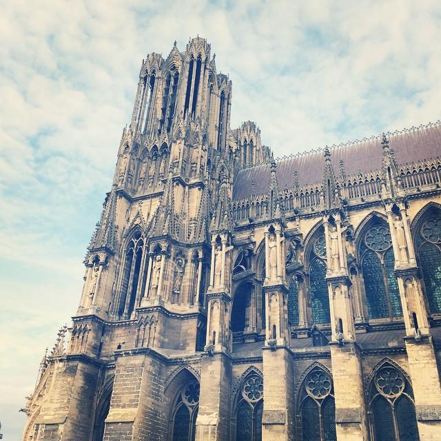 Week-end à Reims a la découverte de la cathédrale et du Palais du Tau #reims #cathedrale #lecmn